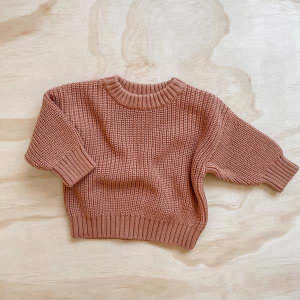 Knit Jumper • Terracotta