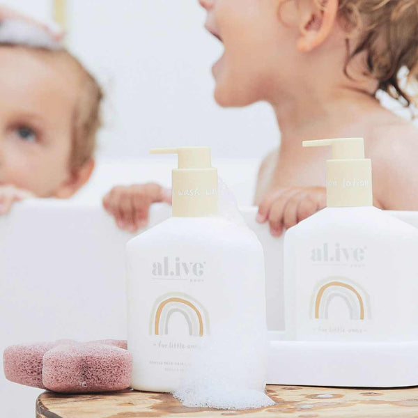 Baby Duo (Hair/Body Wash & Lotion + Tray - Gentle Pear)