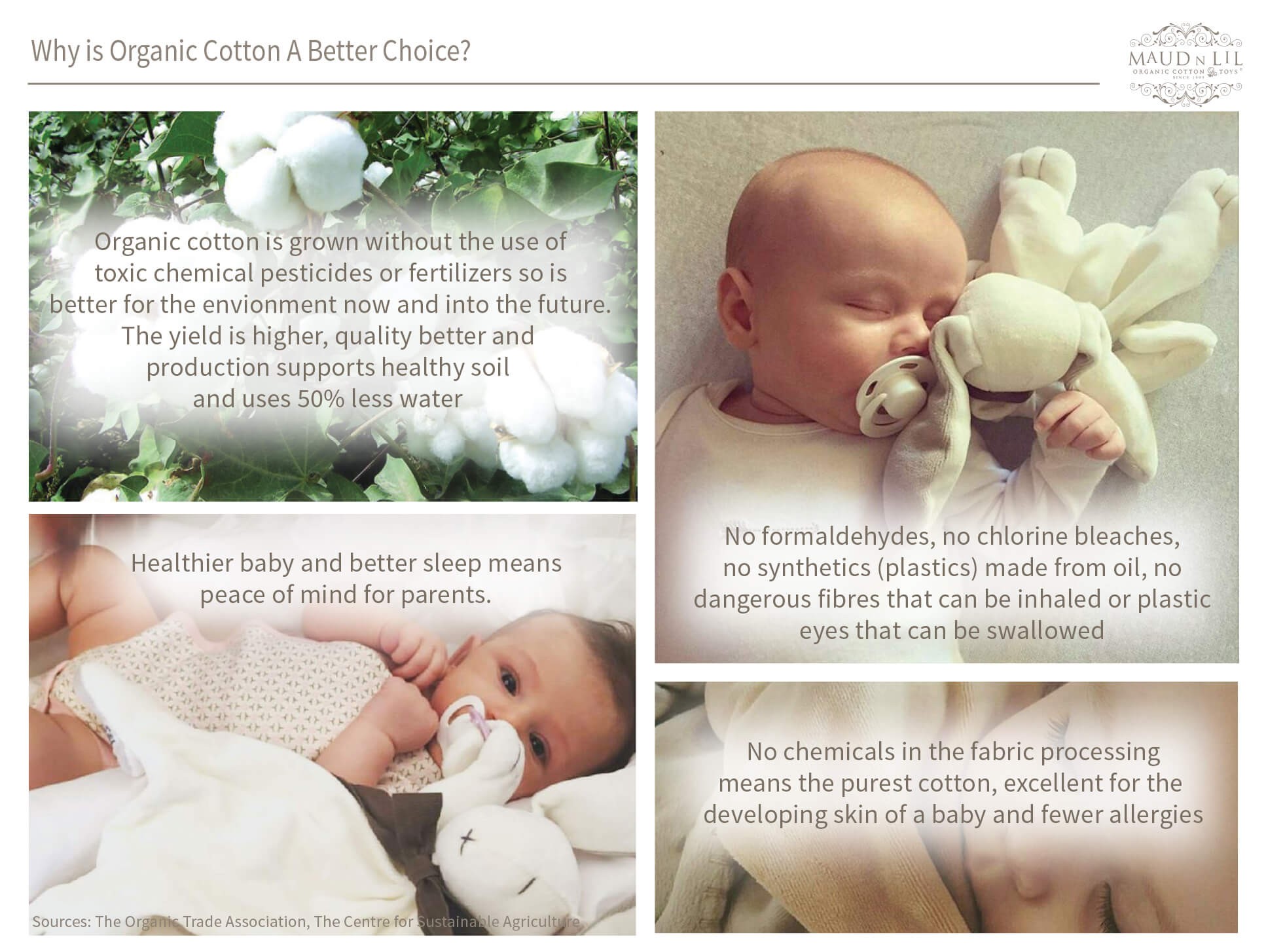 Why Is Organic Cotton A Better Choice