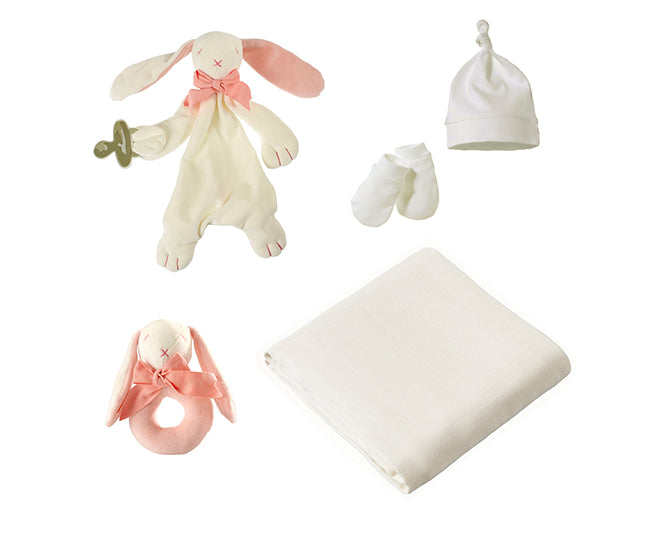 Baby Gift Box (Organic) - Rose the Bunny