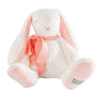 Baby Gift Organic Plush Toy Floppy Rose the Bunny