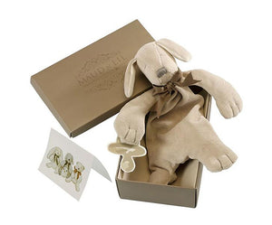 Baby Soft Toy Comforter (Organic) - Paws the Puppy