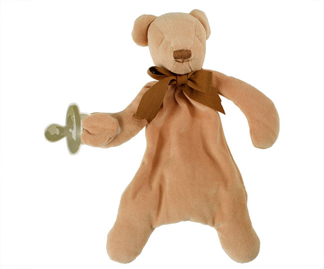 Cubby the Teddy Bear Comforter - Maud N Lil Organic Cotton Toys