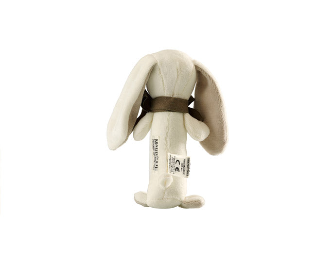 Organic Ears Bunny Stick Rattle – Maud n Lil Organic Cotton Toys