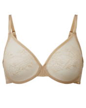 Load image into Gallery viewer, Glossies lace sheer bra