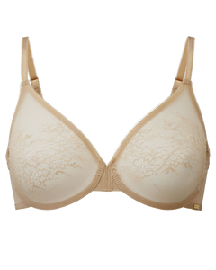 Glossies lace sheer bra