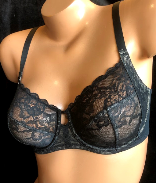 Statement balcony bra