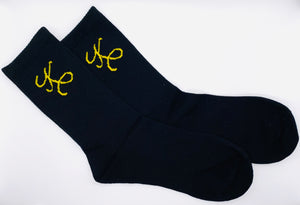 """Black Sulphur""  Signature K Socks By Koralija™"