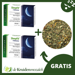 SLEEP BETTER PAKKET (nachtrustkruiden gratis)