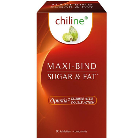 Chiline Maxi-Bind Sugar & Fat - 90 tabl