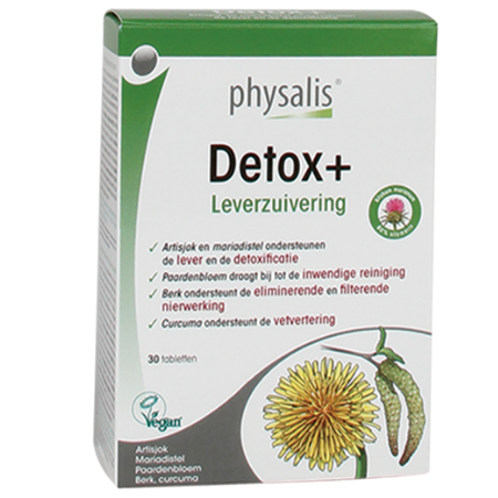 Detox+ Physalis - 30 tabletten