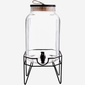 Dispenser With Iron Stand (8liter)