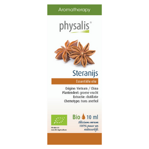 Physalis Steranijs etherische olie Bio - 10ml