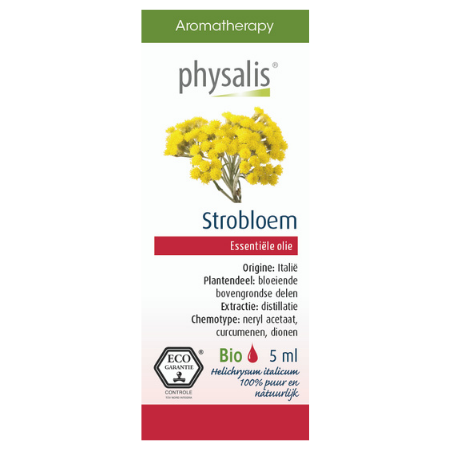 Physalis Strobloem etherische olie Bio - 5ml
