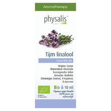 Afbeelding in Gallery-weergave laden, Physalis Tijm ct linalol etherische olie Bio - 10ml