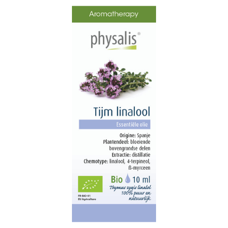 Physalis Tijm ct linalol etherische olie Bio - 10ml