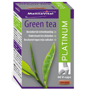 Green tea platinum Mannavital - 60 V-caps