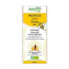 Afbeelding in Gallery-weergave laden, Herbalgem propolis junior siroop Bio - 150ml