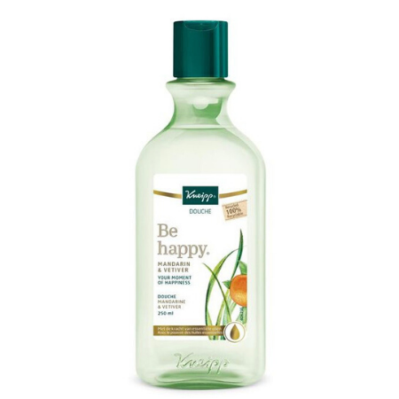 Kneipp Douche Be Happy mandarin & vetiver - 250 ml