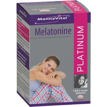 Afbeelding in Gallery-weergave laden, Mannavital Melatonine Platinum - 120 V-smelttabl.