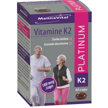 Afbeelding in Gallery-weergave laden, Mannavital Vitamine K2 Platinum - 60 caps