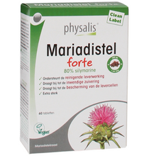 Afbeelding in Gallery-weergave laden, Mariadistel forte Physalis - 60 Tabletten