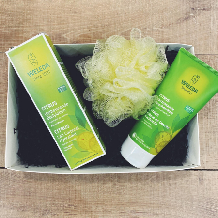 Wellnessbox Bad & Bodylotion (Verfrissende Citrus)