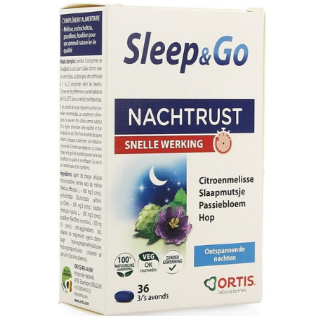 Ortis Sleep & Go - 36 caps