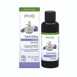 Physalis Massageolie Total Relax - 100ml