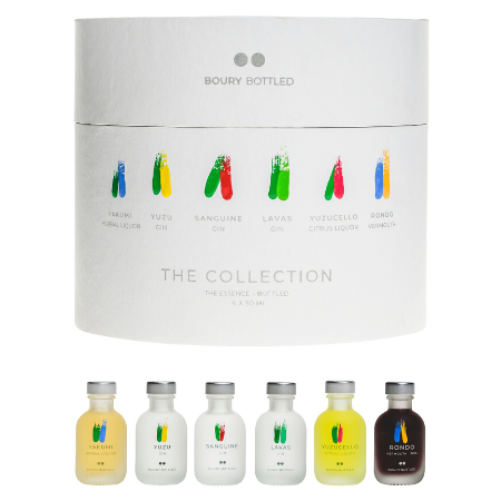 The Collection, the best in one - by Boury Bottled (6x50ml)
