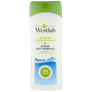 Westlab Reviving Shower Wash + Epsom Salt Minerals - 400ml