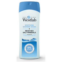Afbeelding in Gallery-weergave laden, Westlab Soothing Shower Wash with Pure Dead Sea Salt Minerals - 400ml