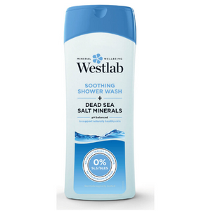 Westlab Soothing Shower Wash with Pure Dead Sea Salt Minerals - 400ml
