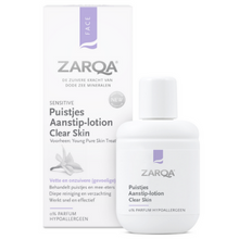 Afbeelding in Gallery-weergave laden, ZARQA Puistjes Aanstiplotion clear skin - 20ml