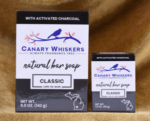 Classic series charcoal soap