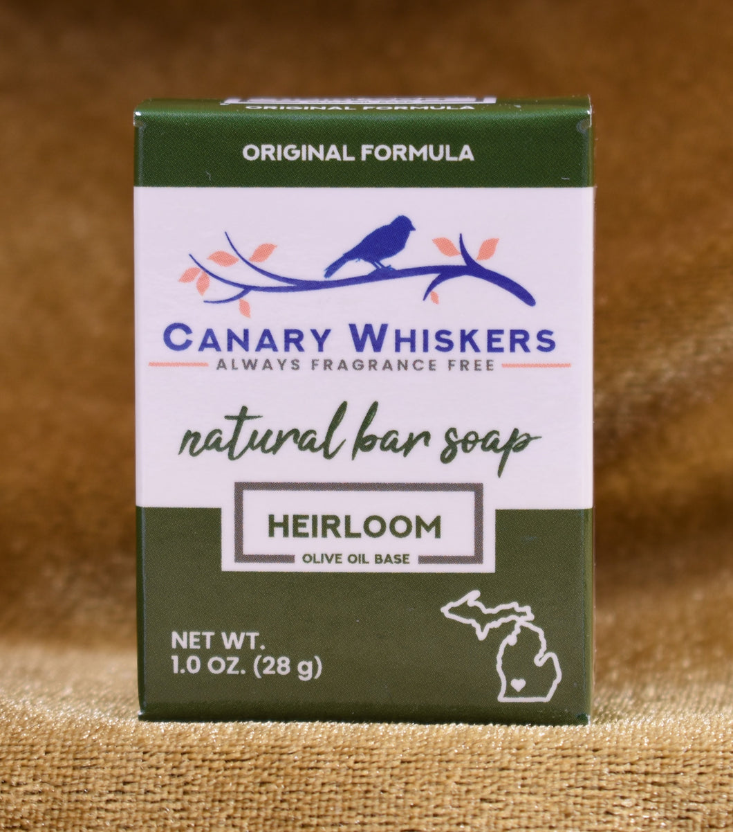 Heirloom series soap