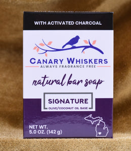 Signature series charcoal soap