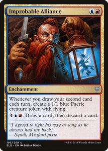 Improbable Alliance [Foil] :: ELD
