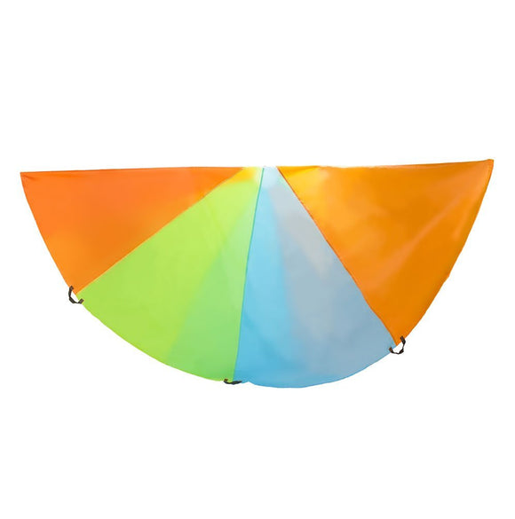 10 Foot Diameter Parachute with Multi-Color Design