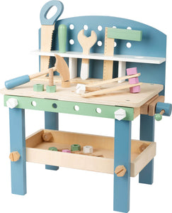 Compact Workbench with Accessories Nordic Theme