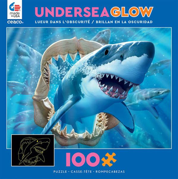 Undersea Glow (assorted 100 pc puzzles)