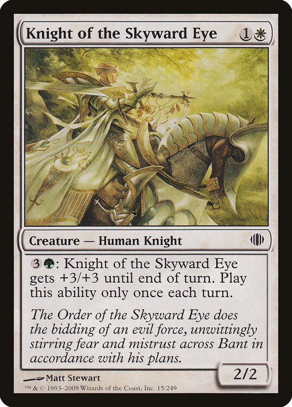 Knight of the Skyward Eye [Foil] :: ALA