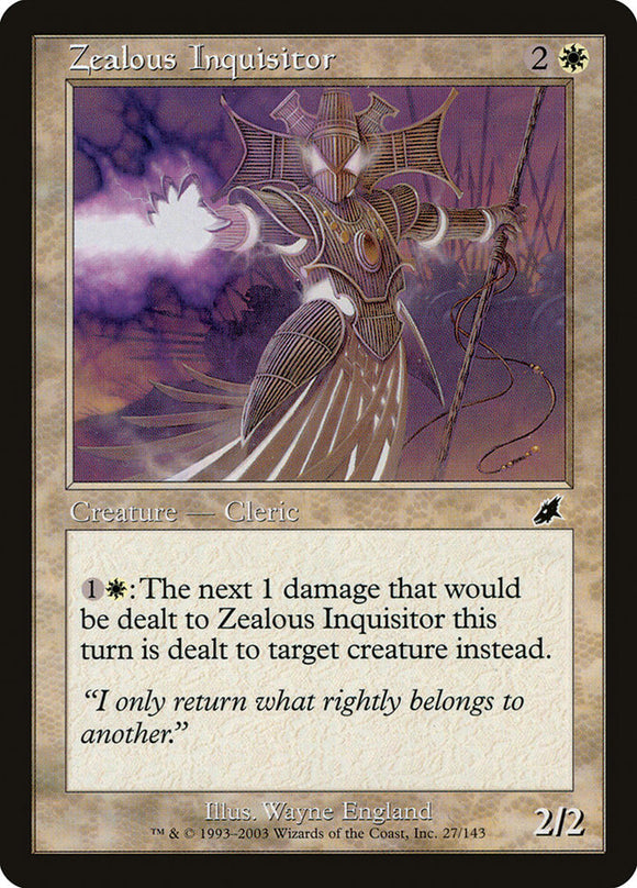 Zealous Inquisitor :: SCG