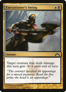 Executioner's Swing [Foil] :: GTC