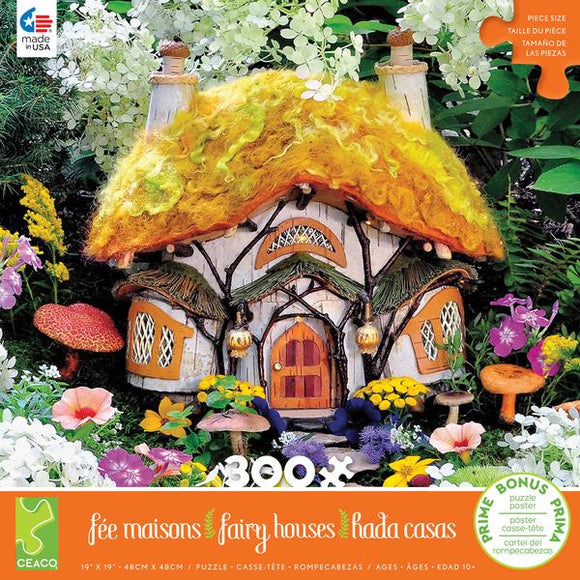Fairy Houses (assorted 300 pc puzzles)