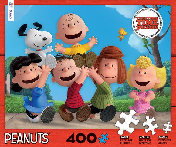 Together Time - Peanuts (400 pc puzzle)