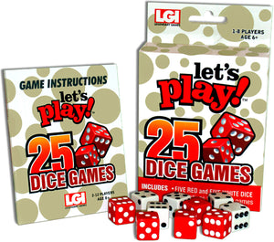Let's Play! 25 Dice Games