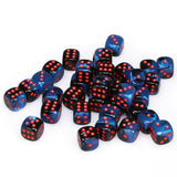 Chessex Gemini 12mm D6 Dice Block (36-Dice)