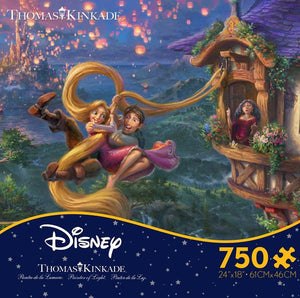 Thomas Kinkade Disney - Tangled 750 pc Puzzle