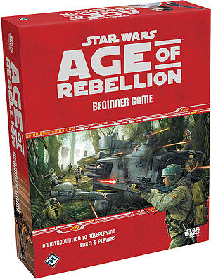 Star Wars RPG: Age of Rebellion - Beginner Game